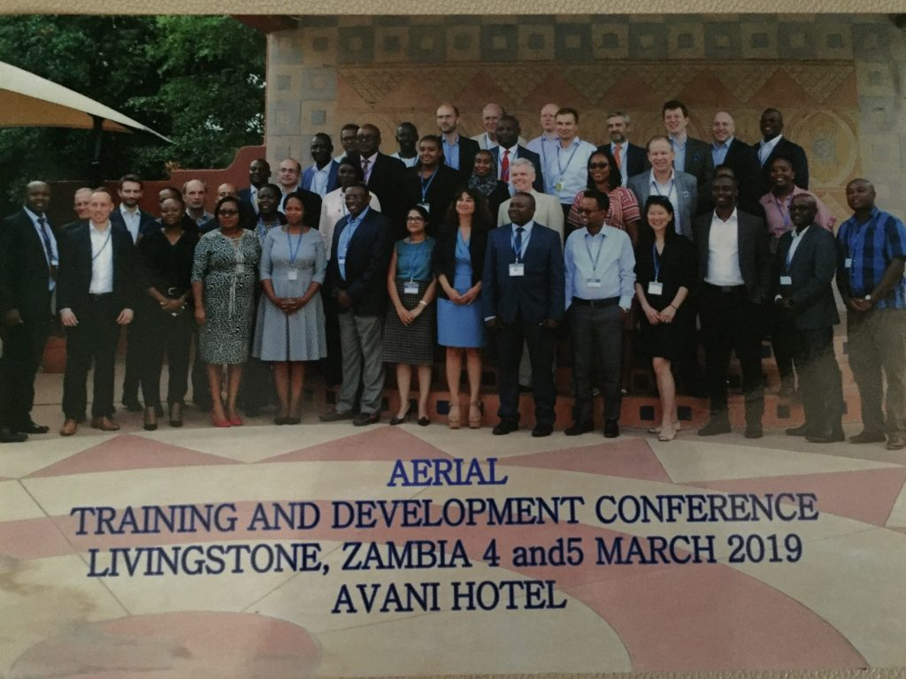 Aerial Training and Development Conference 2019, in Zambia | KATS